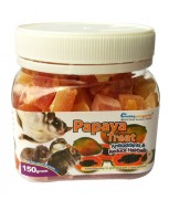 Chubbypetsgarden® Natural Papaya Treat 150g