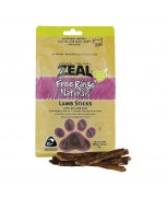 Zeal Free Range Naturals Lamb Sticks Dog Treats 125g