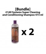 [Bundle] #1All Systems Super Cleaning and Conditioning Shampoo 473 ml x 2
