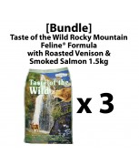 [Bundle]Taste of the Wild Rocky Mountain Feline® Formula with Roasted Venison & Smoked Salmon 2kg x 3