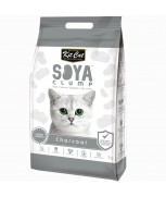 Kit Cat Soya Clump Charcoal Cat Litter 7L