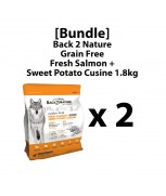 [Bundle]Back 2 Nature Grain Free Fresh Salmon + Sweet Potato Cuisine 1.8kg x 2