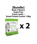 [Bundle]Back 2 Nature Grain Free Fresh Lamb + Sweet Potato Cuisine 1.8kg x 2