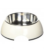 Hagen Catit 2 Dishes in 1 Cat Dish White 350ml