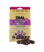 Zeal Free Range Naturals Venison Puffs Dog & Cat Treats 85g
