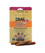 Zeal Free Range Naturals Venison Tendons Dog Treats 125g