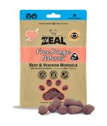 Zeal Free Range Naturals Beef & Venison Morsels Dog Treats (Freeze Dried) 100g