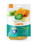 Happi Doggy Dental Chew Care Skin & Coat 150g (18 Pieces) - Petite