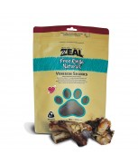 Zeal Free Range Naturals Venison Shanks Dog Treats 300g