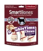SmartBones DoubleTime Bones Chicken - 3 Medium (240g)