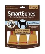 SmartBones Peanut Butter Classic Bone Chews - 3 Large (328g)