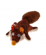 GiGwi Plush Friendz with Squeaker Fox S Size