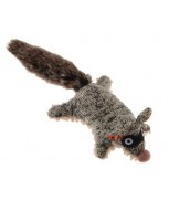 GiGwi Plush Friendz with Squeaker Coon S Size