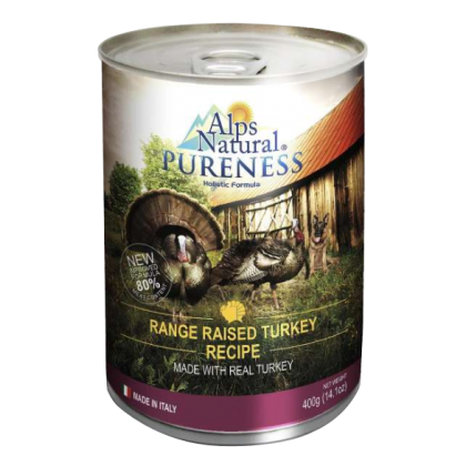 Alps Natural Mix - Classic Meat with Premium Canned Food 400gm x 6 Free 1