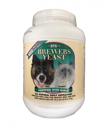 BYS Brewers Yeast 4000 Tablets (2kg)