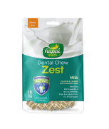 Happi Doggy Dental Chew Zest Milk 150g (18 Pieces) - Petite