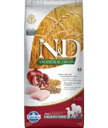 Farmina Natural & Delicious N&D Ancestral Grain Chicken & Pomegranate Adult Medium & Maxi 12kg