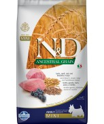 Farmina Natural & Delicious N&D Ancestral Grain Lamb & Blueberry Adult Mini 2.5kg