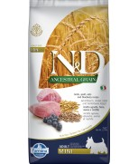 Farmina Natural & Delicious Ancestral Grain Lamb & Blueberry Adult Mini 7kg
