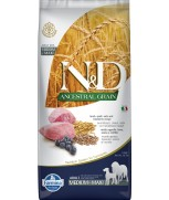 Farmina Natural & Delicious N&D Ancestral Grain Lamb & Blueberry Adult Medium & Maxi 12kg