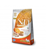 Farmina Natural & Delicious N&D Ancestral Grain Codfish & Orange Adult Mini 7kg