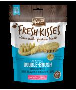 Merrick Fresh Kisses All Natural Double Brush Mint Breath Strips (Small) 9's - 155g