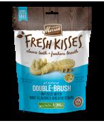 Merrick Fresh Kisses All Natural Double Brush Mint Breath Strips (X-Small) 20's - 170g