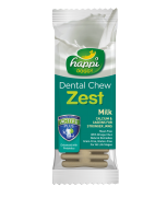Happi Doggy Dental Chew Zest Milk 4 Inch