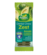 Happi Doggy Dental Chew Zest Avocado 4 Inch