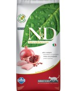 Farmina Natural & Delicious Chicken & Pomegranate Adult Dry Cat Food Grain Free Formula 10kg