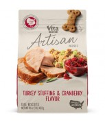 Vitabone Artisan Inspired® Biscuits Turkey Stuffing & Cranberry Flavor 453g (16oz)