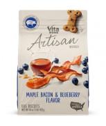 Vitabone Artisan Inspired® Biscuits Maple Bacon & Blueberry Flavor 453g (16oz)