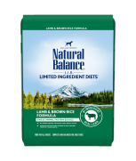 Natural Balance L.I.D. Limited Ingredient Diets® Lamb & Brown Rice Dry Dog Formula 26lbs