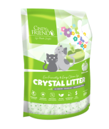 Cindy and Friends Crystal Litter - Green Apple 5L