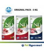 Farmina Natural & Delicious Dry Cat Food Grain Free Formula 5 kg