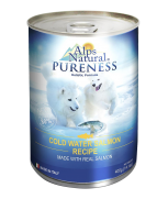 Alps Natural Classic Salmon with Premium Meat Dog Canned Food 400g