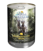 Alps Natural Classic Pork with Premium Meat Dog Canned Food 400gm