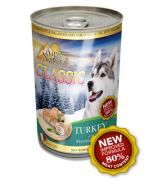 Alps Natural Classic Turkey with Premium Meat Dog Canned Food 400gm