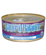 Natural Balance Indoor Canned Cat Formula 5.5oz