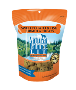 Natural Balance L.I.T. Limited Ingredient Treats® Sweet Potato & Fish Formula 14 oz