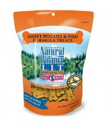 Natural Balance L.I.T. Limited Ingredient Treats® Sweet Potato & Fish Formula Small Breeds 8 oz