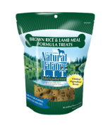 Natural Balance L.I.T. Limited Ingredient Treats® Brown Rice & Lamb Meal Formula 14 oz