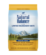 Natural Balance L.I.D. Limited Ingredient Diets® Potato & Duck Dry Dog Formula 4.5lbs