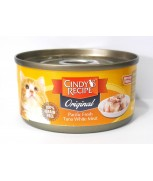 Cindy's Recipe Original Pacific Fresh Tuna Whitemeat Canned Cat Formula 80gm