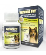 Natural Pet Super Multi with Glucosamine Tablet (60 chewables)