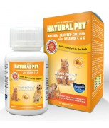 Natural Pet Natural Seaweed Calcium Plus Vitamin C & D (60 chewables)