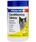 Kitzyme Conditioning Tablets For Cats (300 Tablets)