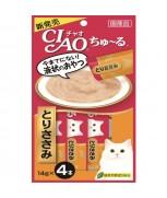 Ciao Chu-ru Sasami (Chicken) 14gm x 4