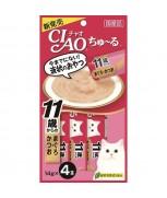 Ciao Chu-ru Tuna with Collagen 14gm x 4