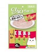 Ciao Chu-ru Chicken Fillet & Squid 14gm x 4